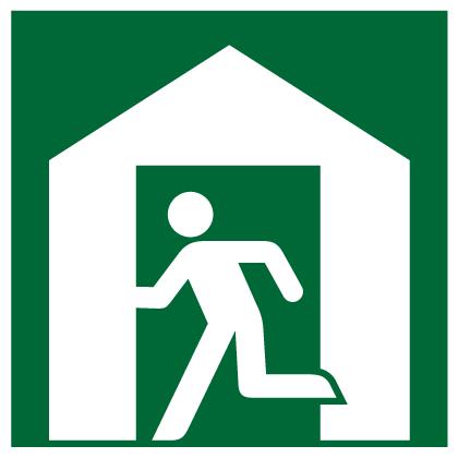 Designated refuge icon